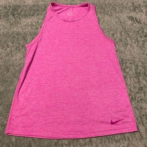 Nike Pink Woman's Workout Athletic Tank Top